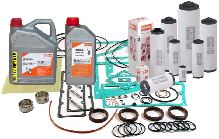 bom chan khong Busch Zebra RH 0040 B, Busch vacuum pump Zebra RH 0040 B, option