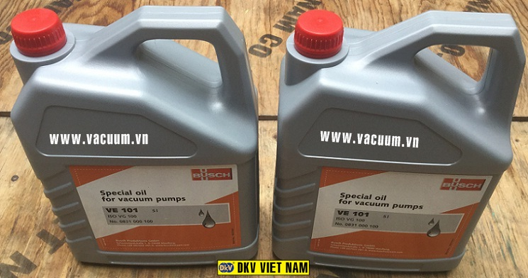 dau chan khong busch ve 101, busch vacuum oil ve 101, germany