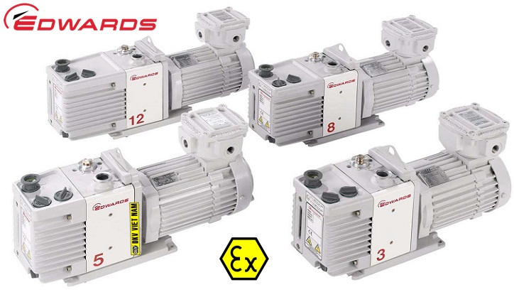 bom chan khong edwards rv12 atex, edwards vacuum pump rv12 atex