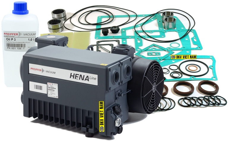 bơm chân không Pfeiffer Hena 61, Pfeiffer vacuum pump Hena 61, option