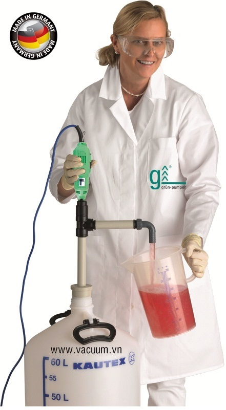 bom thung phuy Gruen GLP 25, Gruen drum pump GLP 25, 400-0020